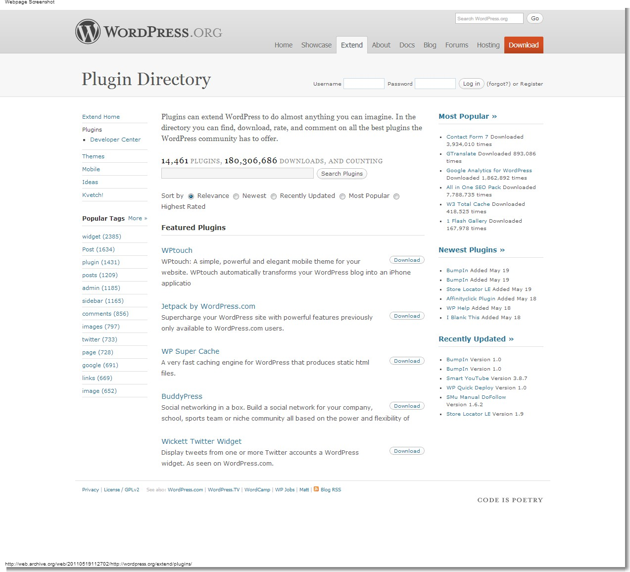 May 19, 2011 - WordPress - WordPress Plugins
