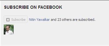 Facebook-Subscriber