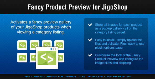 Fancy Product Preview for Jigoshop