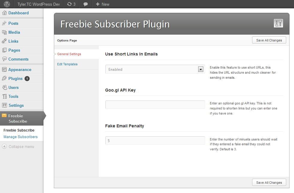 Subscribe to Download for WordPress