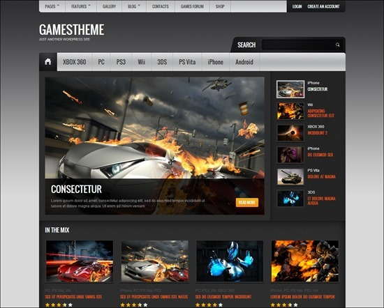 GamesTheme