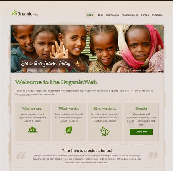 Organic Web