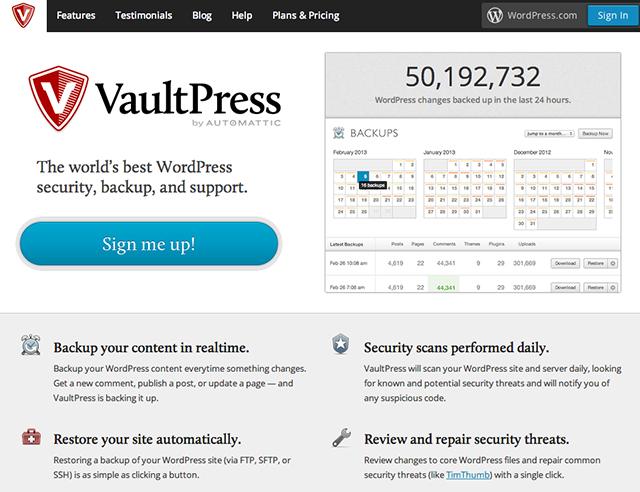 VaultPress - 1