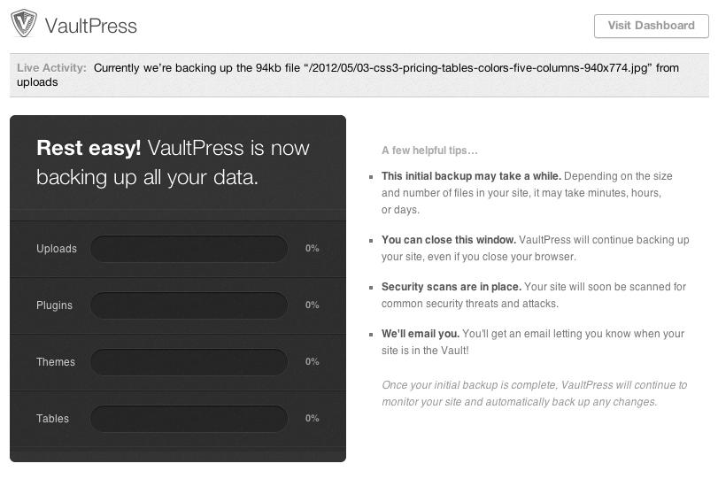 VaultPress - 5