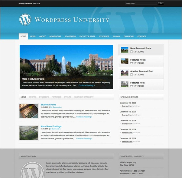 WordPress University