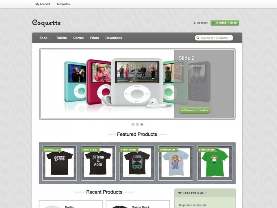 Coquette-WooThemes