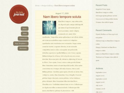 DailyJournal-Elegant-Themes