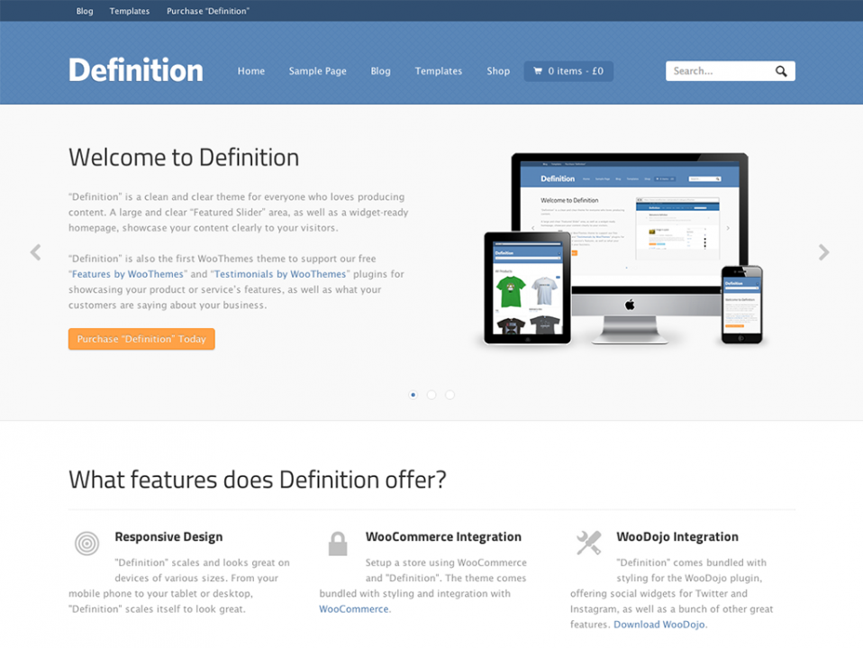 Definition-WooThemes