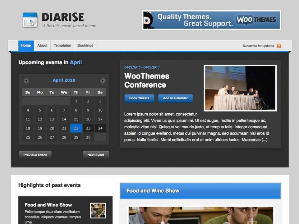 Diarise-WooThemes
