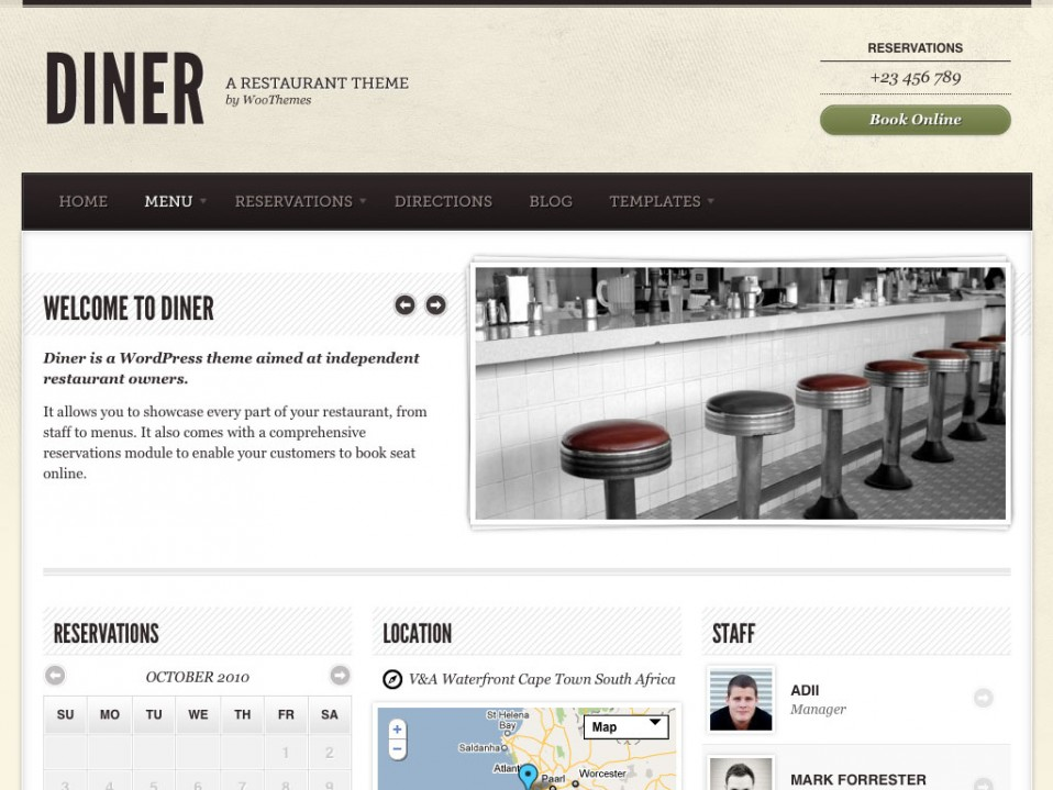 Diner-WooThemes