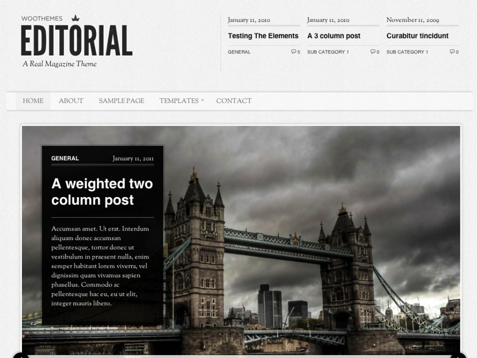 Editorial-WooThemes