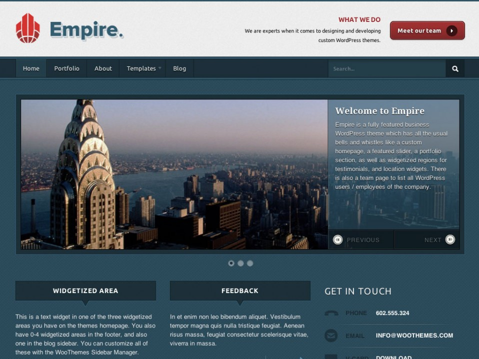 Empire-WooThemes