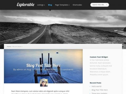 Explorable-Elegant-Themes