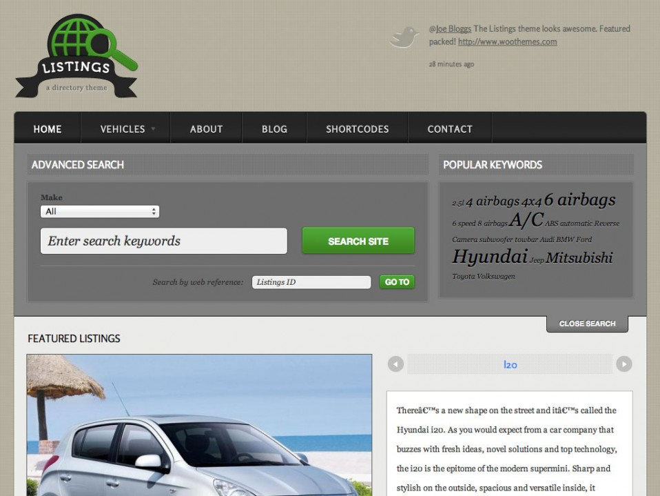 Listings-WooThemes