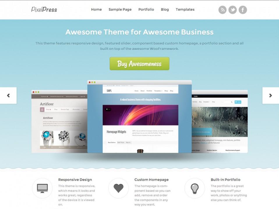 PixelPress-WooThemes