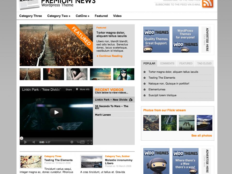 PremiumNews-WooThemes