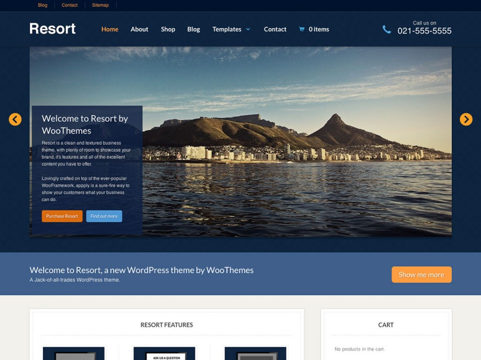 Resort-WooThemes