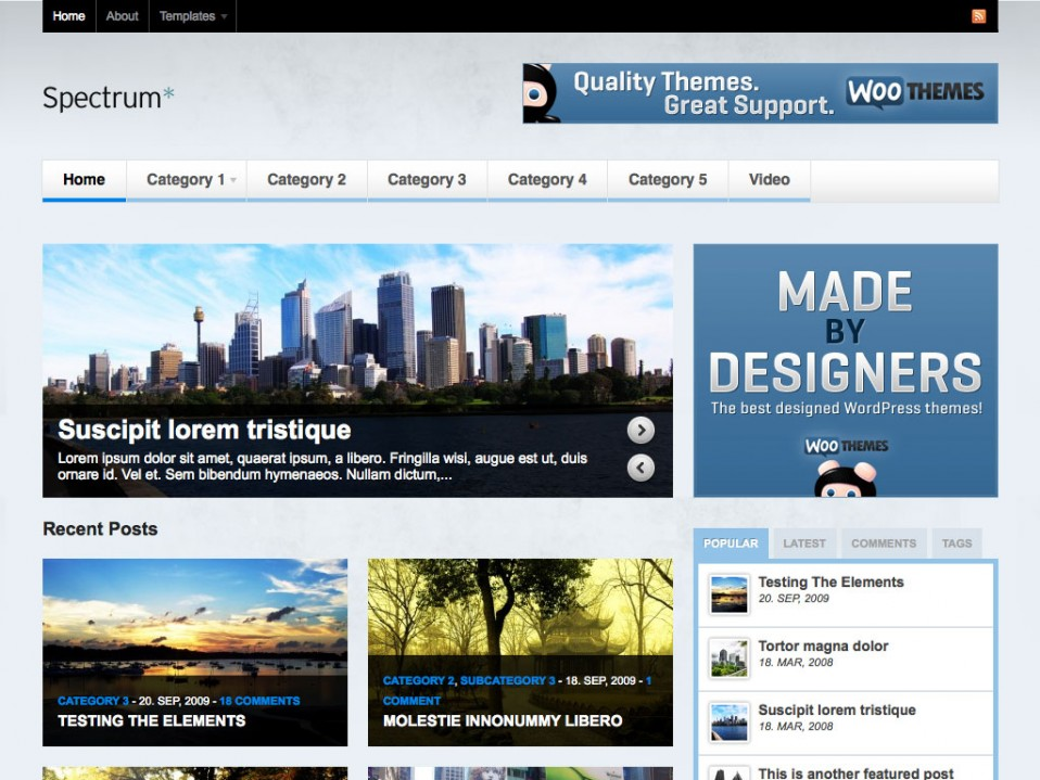 Spectrum-WooThemes