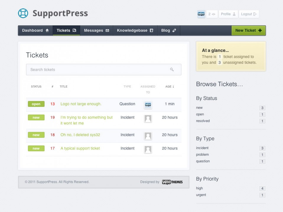 SupportPress-WooThemes
