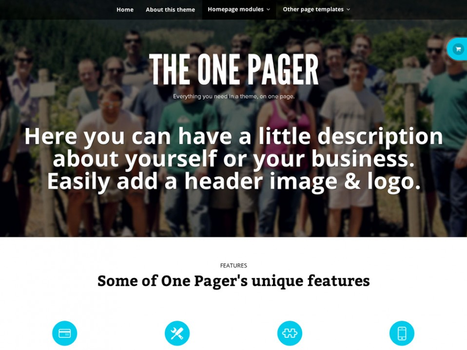 TheOnePager-WooThemes