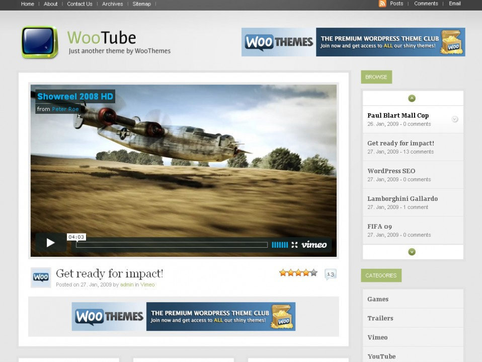 WooTube-WooThemes