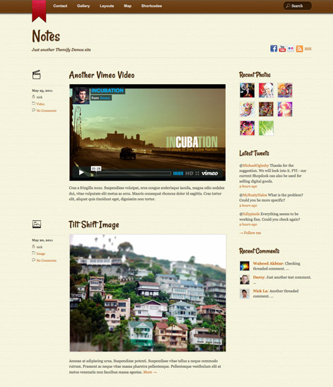 Notes-Themify-Themes