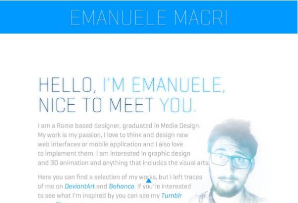 #6 Emanuele Macri