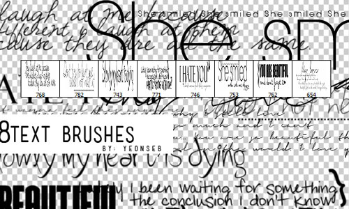 8textbrushes by Yeonseb