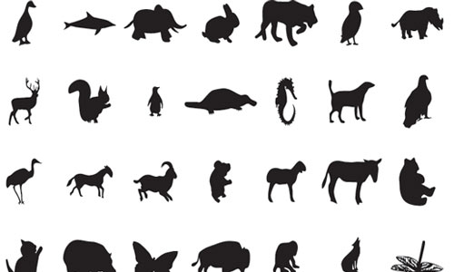 Animal Silhouettes by alisdesignmania