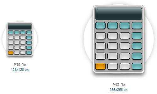 Calculator Icon by Thiago Silva
