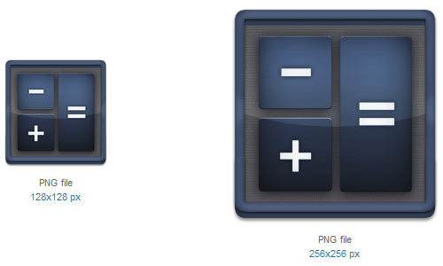 Calculator Icon by babysnoop03