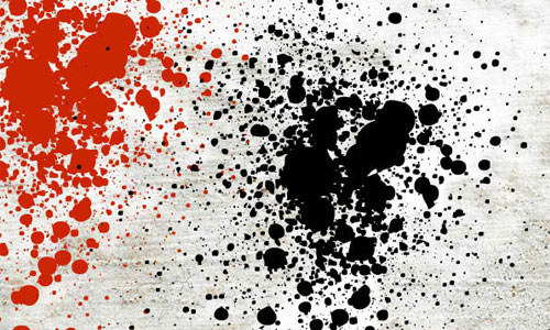 Destroy Splatter by stock-graphic-designs