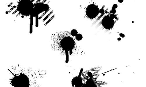 Free Vector Grunge Splats