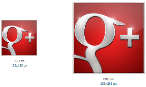 Google Plus Icon by Graphics Vibe