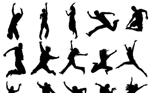 People Jumping