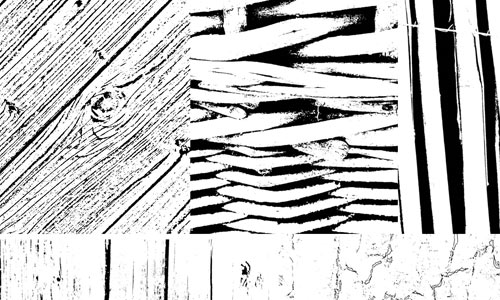 Photoshop Brushes - Wood Textures by IsaaaHa