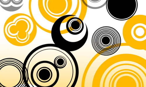 Simple Circles Vectors by Red--Roses