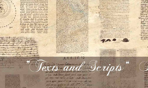 Texts and Scripts Bruhes by nyan-nyan