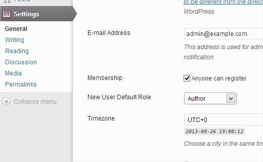 Users Registration
