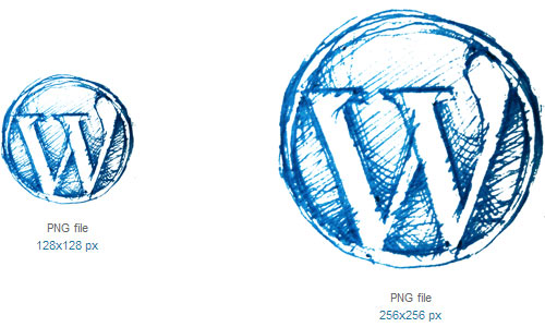 WordPress Icon by An Phan Van