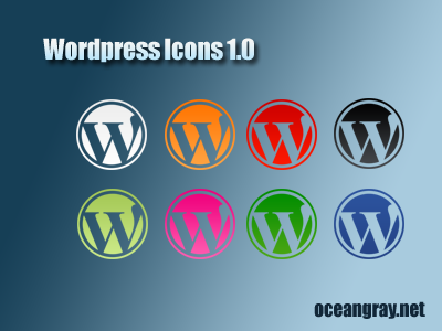 WordPress Icons 1.0 by oceangray