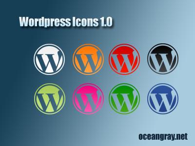 WordPress Icons 1.0 by oceangray