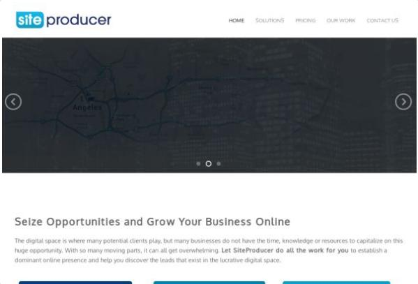#8 Site Producer