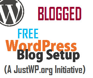 Blogged - The Free WordPress Blog Setup