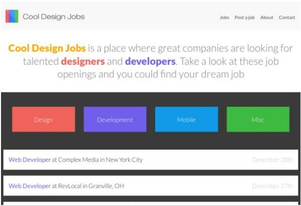 #2 Cool Design Jobs