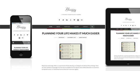 Bloggy WP
