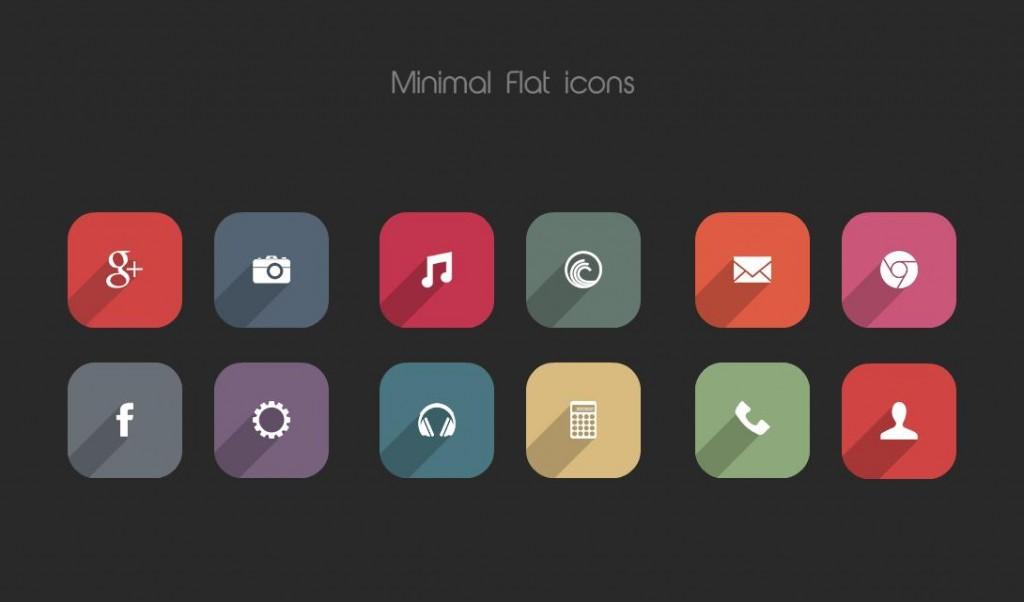 Minimal Flat Icons