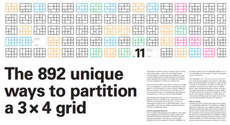 3 x 4 Grid Poster