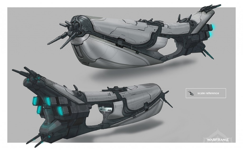 Warframe - Tenno Cruiser by SBigham