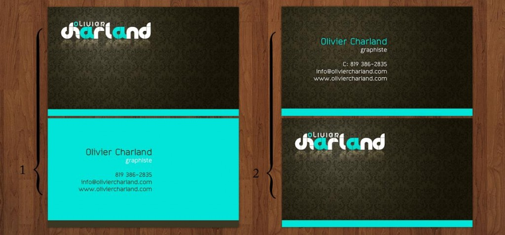 Business card by 1ceGoD